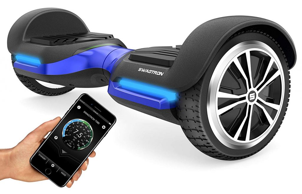 swagtron-t580-1024x657 App-Enabled Swagtron T580 Bluetooth Hoverboard
