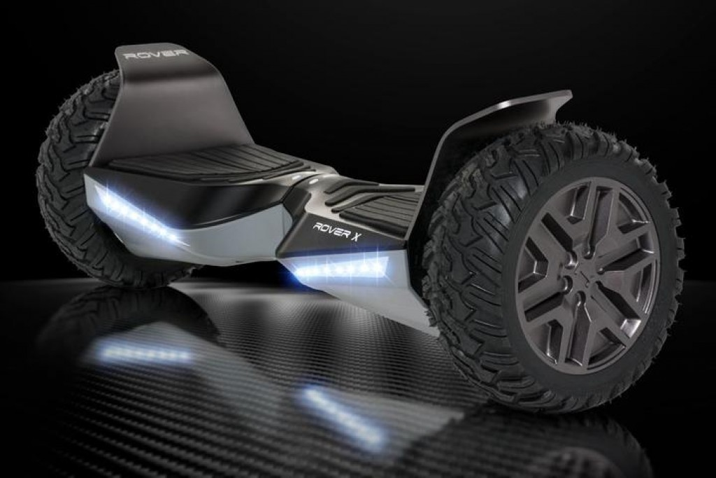 halo-rover-black-top10besthoverboardscom-1024x683 Official Best Hoverboard 2021 - UL2272 Certified, Indoor&Outdoor - All Terrain/Off Road